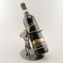 Dame wijnfleshouder