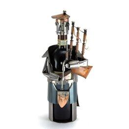 Wijnfleshouder doedelzakspeler