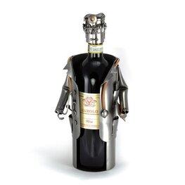 Arts wijnfleshouder