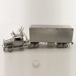 Vrachtwagen met oplegger (klein)