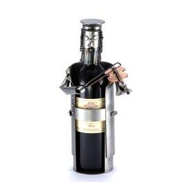 Violist wijnfleshouder