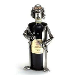 Clown wijnfleshouder