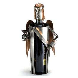 Engel wijnfleshouder