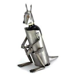 Kangoeroe wijnfleshouder