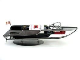 Speedboot wijnfleshouder