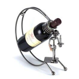Ober wijnfleshouder