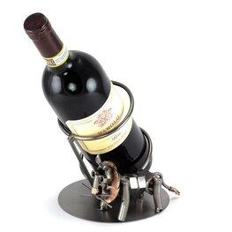Leeuw wijnfleshouder