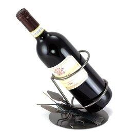 Kreeft wijnfleshouder