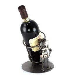 Maagd wijnfleshouder