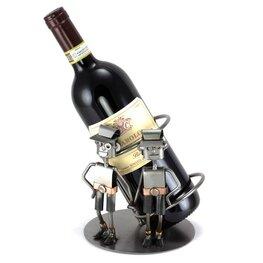 Tweelingen wijnfleshouder