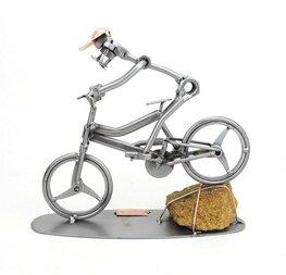 Mountainbiker MTB downhill
