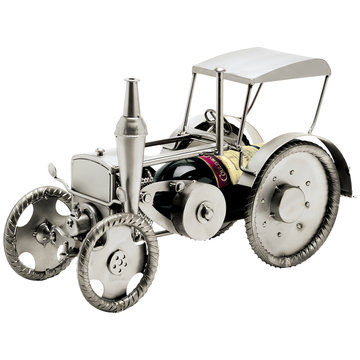 Tractor wijnfleshouder
