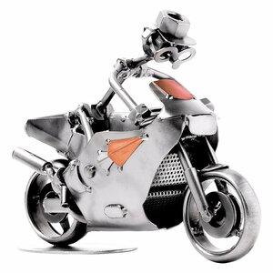 Coureur op racemotor beeldje