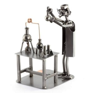 Chemicus-laborant beeldje