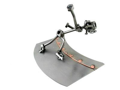 Wedstrijd schaatser beeldje
