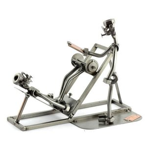 Fitness trainer beeldje