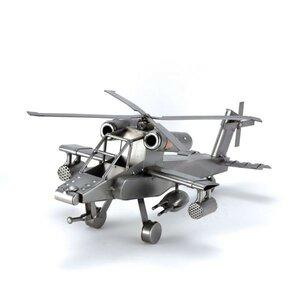 Apache gevechtshelikopter beeldje