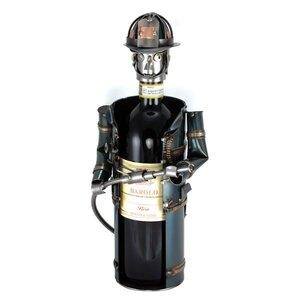 Wijnfleshouder brandweer