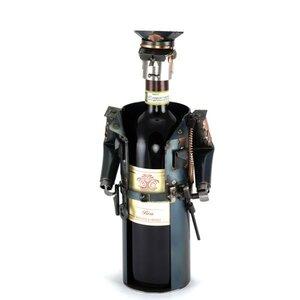 Wijnfleshouder politie
