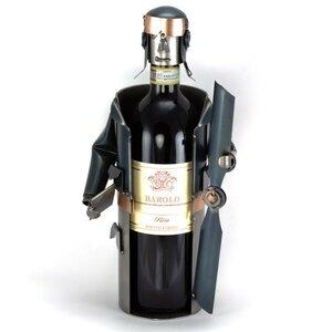 Wijnfleshouder piloot