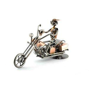 Harley Davidson (koper) beeldje