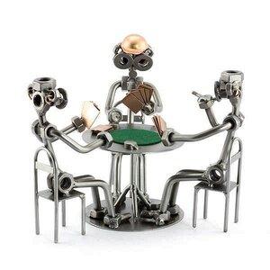Pokerspelers beeldje