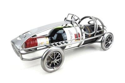 Klassieke raceauto 5 wijnfleshouder