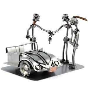 Auto verkoper beeldje