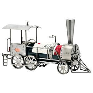 Locomotief wijnfleshouder