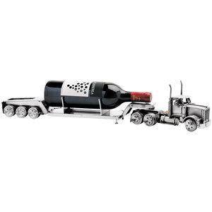Vrachtwagen dieplader wijnfleshouder